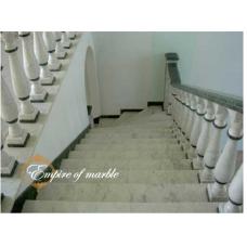 Мраморная лестница из мрамора Виктори и Верде гватемала