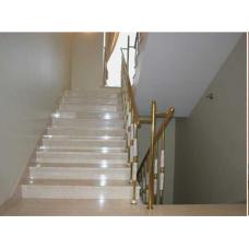 Мраморная лестница из мрамора «Виктори»