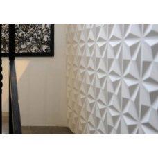 3Д Панели из мрамора Декор Ромбы
