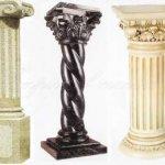 Колонны из натурального камня – это красиво, удобно и функционально