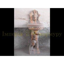 пристенный фонтан 19-04
