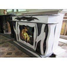 Мраморный портал выполненный в современном стиле
