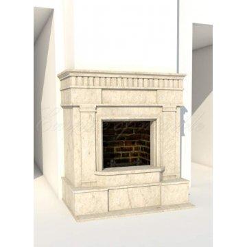 Классический каминный портал