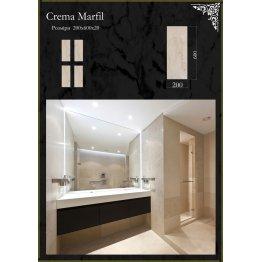Плитка мраморная Crema Marfil Крема Марфил