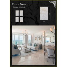 Плитка мраморная Crema Nova Крема нова