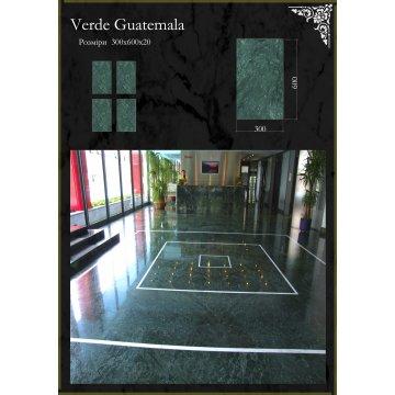 Плитка мраморная Verde Guatemala Верде Гватемала