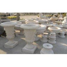 Китайские вазы для сада из гранита